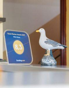 Nagroda Booking.com - pokoje gościnne Gdynia